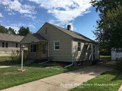 2 Bedroom/1 Bath Single Family Home For Rent