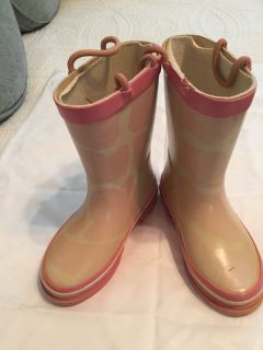Toddler size 10 Pink Boots