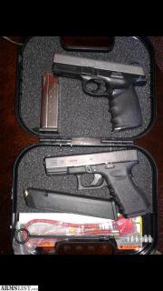 For Trade: Glock 23 & SW9VE