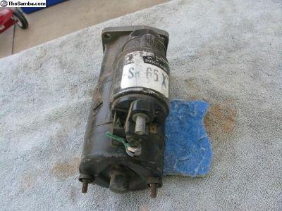 SR65X starter
