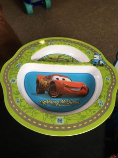 First year is lightning McQueen plate