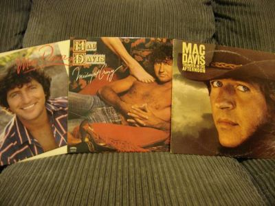33 Vinyl Records - Mac Davis