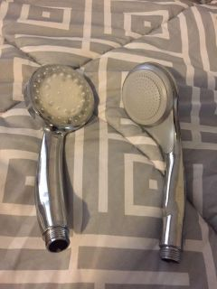 Two brand new shower heads