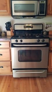 GE Gas Stainless Stove