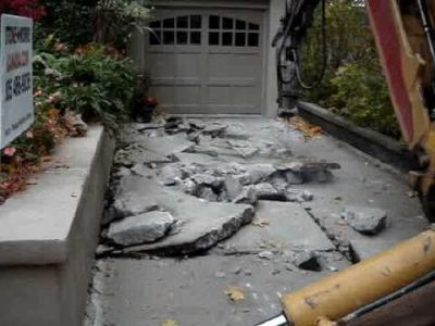★BEST VALUE - Concrete driveway removal / demolition / disposal - General Contractor