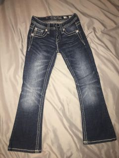 Girls Miss me jeans size 7