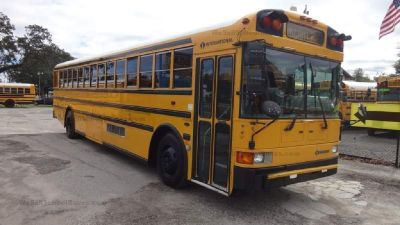 2000 International Rear Engine High Top School Bus + A/C