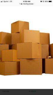Moving boxes. All sizes, anything helps!