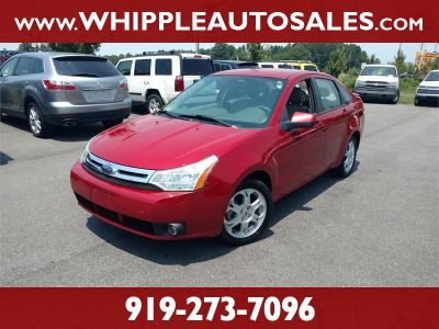 2009 Ford Focus SES (Red)