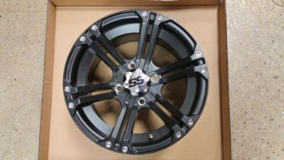 Sell ITP - 14SS410BX - SS212 Wheel, 14x8 - 5+3 Offset - 4/115 - Black motorcycle in Pelham, Alabama, United States, for US $310.00