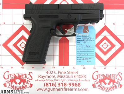 For Sale: Springfield Armory XD 9MM $395
