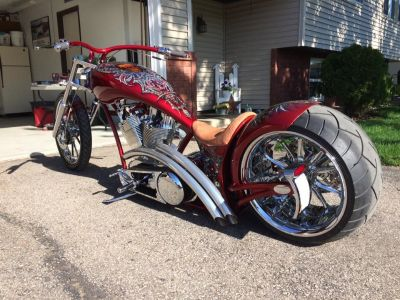 Independent Cycle Inc. Low Life Custom Chopper/Prostreet