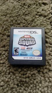 Nintendo DS game Marvel Super Hero Squad. Works perfectly