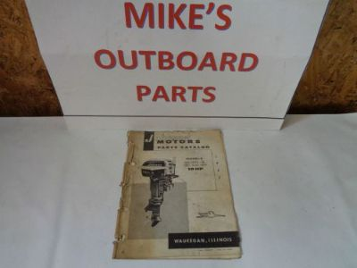 Sell 1957 JOHNSON PARTS CATALOG 10 HP MOTORS @@@CHECK THIS OUT@@@ motorcycle in Atlanta, Georgia, United States, for US $16.99
