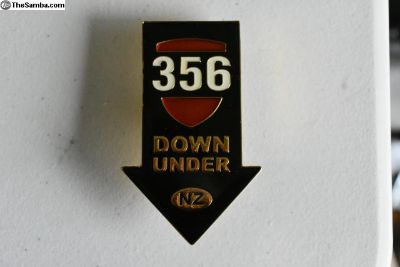 356 'Down Under' Grille badge