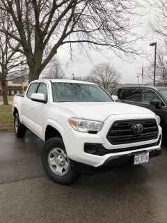 2018 Toyota Tacoma SR (Super White)