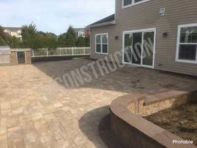 Pool demolition, Basement entries, egress windows, pavers, concrete