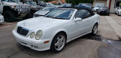 2000 Mercedes-Benz CLK-Class CLK320 (White)