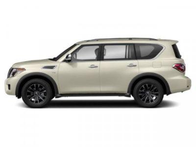 2019 Nissan Armada Platinum (Pearl White Tricoat)