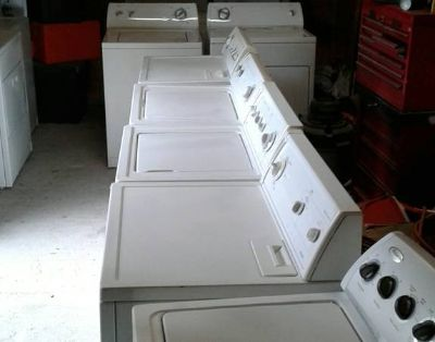 Washer and dryer delivered