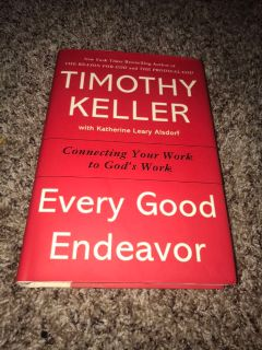EUC EVERY GOOD ENDEAVOR HARDBACK BOOK
