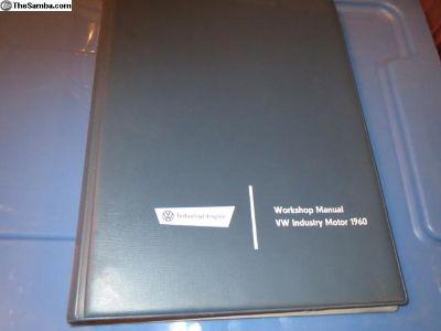 1960 vw industry motor workshop manual