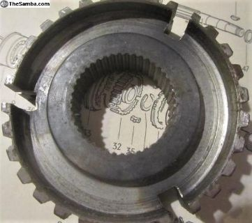 Clutch Gear 3rd/4th Gears 1972-75:NOS