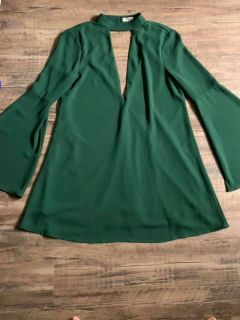Size small bell sleeve dress $8