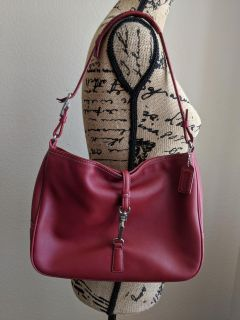 Red Leather Vintage Coach