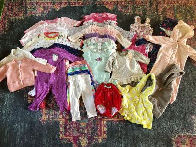 Baby Girl 6-9 month clothing lot