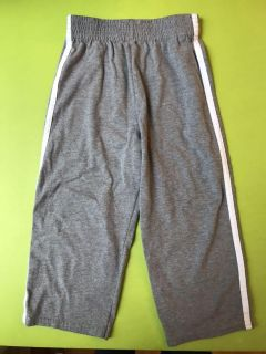 Cotton athletic pants, grey
