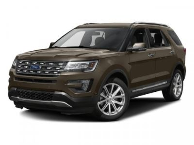 2016 Ford Explorer Limited (Black)
