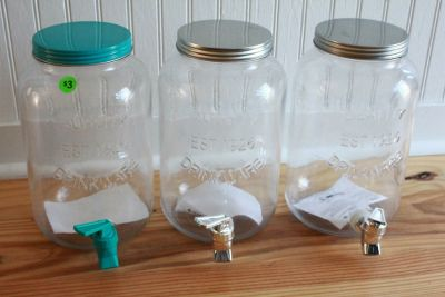 3 DRINK DISPENSERS