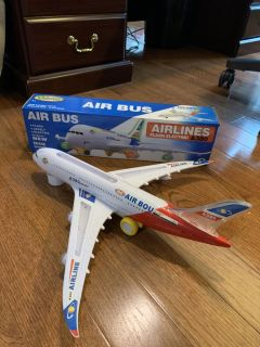 LIKE NEW!! TOYSERY AIR BUS/PLANE!!LIKE NEW!! With Batteries!!!!!