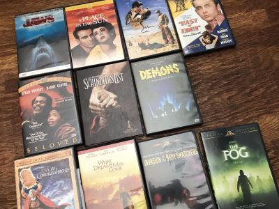Any 4 dvds for $1