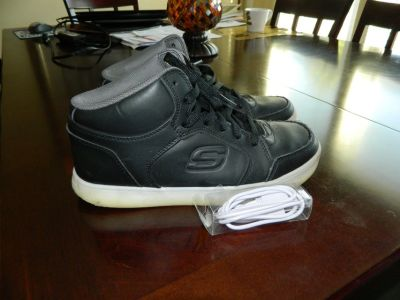 Skechers Energy Lights High Top Gym Shoe Size 7