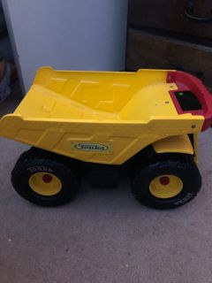 Tonka truck (large) and easel need gone ASAP. Make me an offer