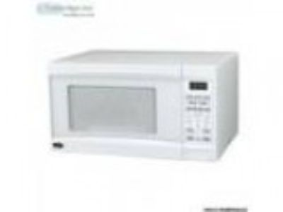 MICROWAVE OVEN . cf watts white brand NEW in its sealed b