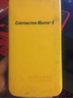 Construction master five calculator