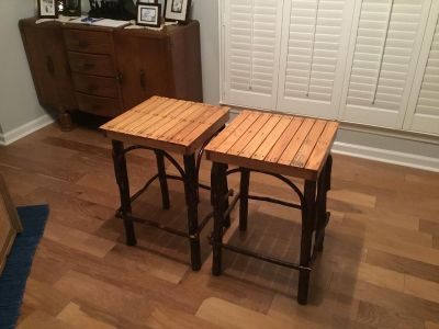 Amish Oak/Hickory-End tables