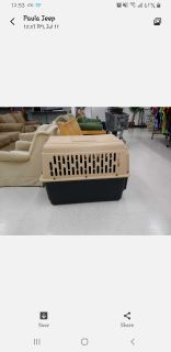 Iso a med/large dog crate