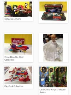 Huge Collectibles Toy Auction