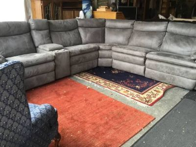 Six Piece Reclining Modular Sectional Couch - Delivery Available