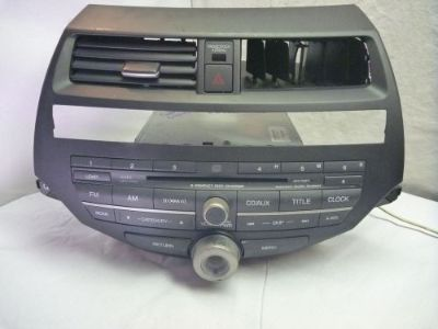 Purchase 08-12 Honda Accord Premium 6 Disc Cd Player & Code 39100-TE0-L521 3PB6 CP64516 motorcycle in Williamson, Georgia, United States, for US $190.00