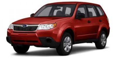 2010 Subaru Forester 2.5X (Dark Gray Metallic)