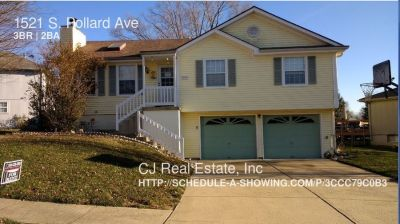 Single-family home Rental - 1521 S. Pollard Ave