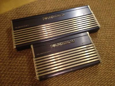 Two Soundstream Rubicon Amplifiers