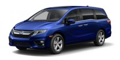 2019 Honda Odyssey EX-L with Navigation with Rear (Deep Scarlet)