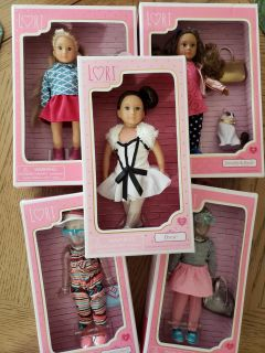 Lori Doll Our Generation AG minis dolls outfits