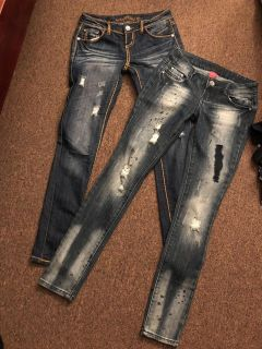 Almost Famous Jeans Size 3